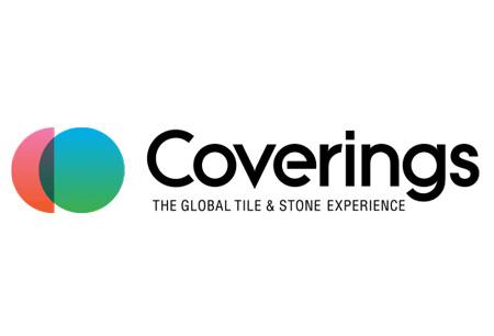 COVERINGS logo
