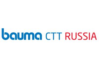 bauma CTT RUSSIA logo