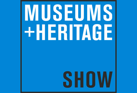 Museums + Heritage Show logo